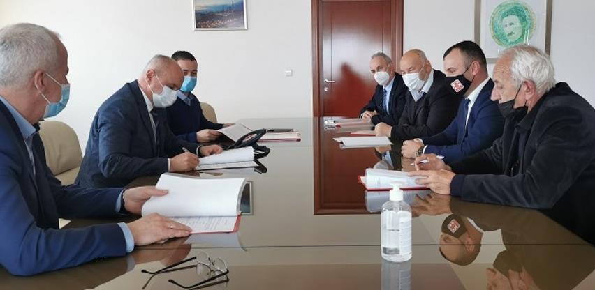 Potpisan ugovor o koncesiji za eksploataciju andezita kod Srebrenice
