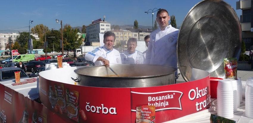Napravljena najveća porcija tarhane na prostoru Balkana