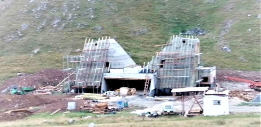 """U toku izgradnja """"Kuće spasa"""" na Bjelašnici"""