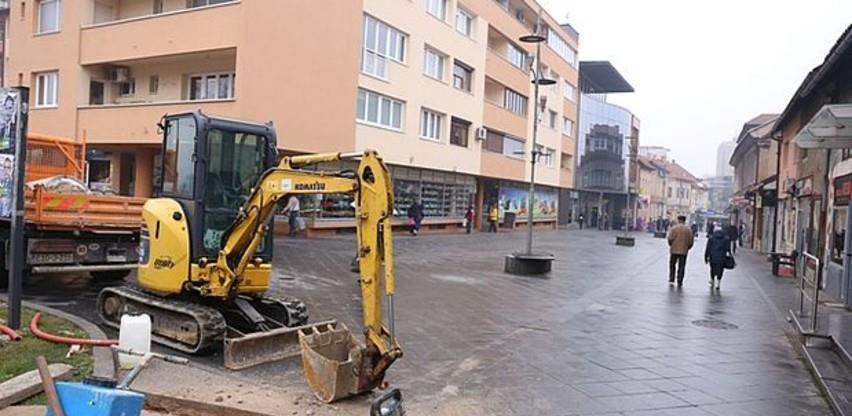 Sanirana Titova ulica uskoro postaje još sigurnija za pješake