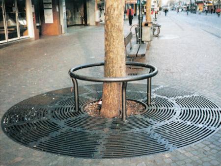 ACO Wotan i Standard rešetke - Optimalna zaštita drveća uz saobraćajnice
