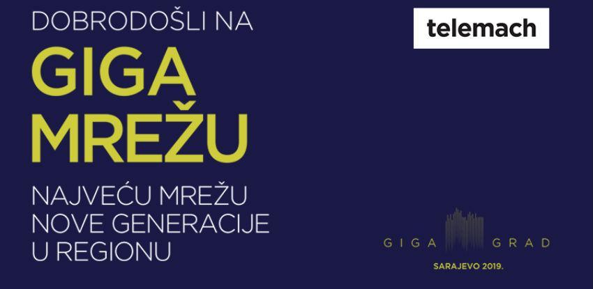 Telemach najavljuje prvi GIGA grad u BiH