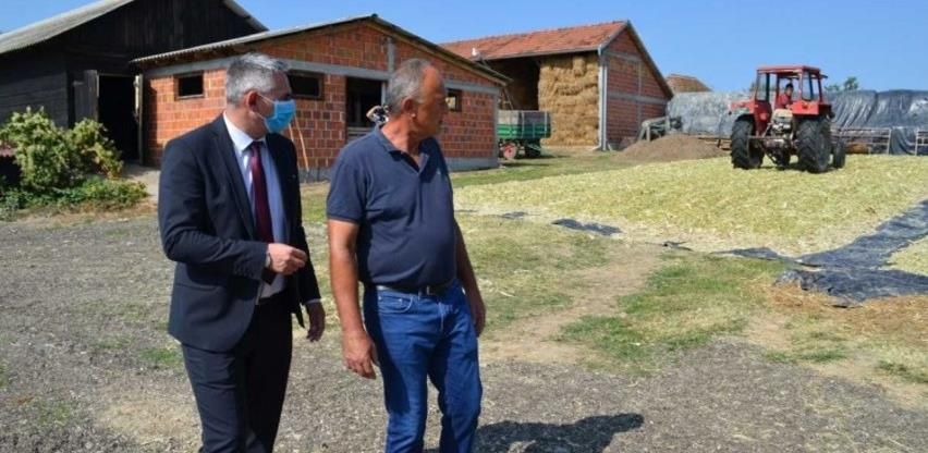 Gradonačelnik Brčkog obišao poljoprivredne proizvođače