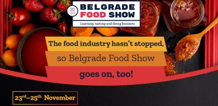 Poziv na online poslovne susrete u okviru sajma Belgrade Food Show 2020.