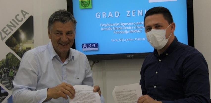 """Grad Zenica i Investicijska fondacija """"IMPAKT"""" nastavljaju saradnju i u 2021."""