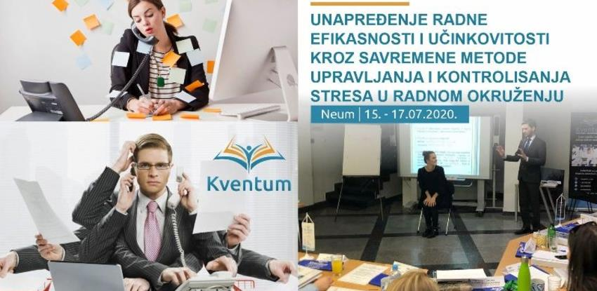 Seminar o unapređenju radne efikasnosti i učinkovitosti