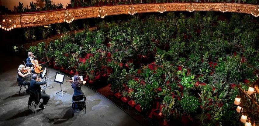 Barcelona ponovno otvorila slavnu operu koncertom za biljke