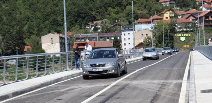 """U Goraždu rekonstruisani """"Most žrtava genocida u Srebrenici"""" pušten u promet"""
