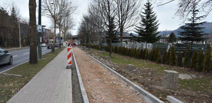 U toku izgradnja biciklističke staze Alipašina - park Jezero