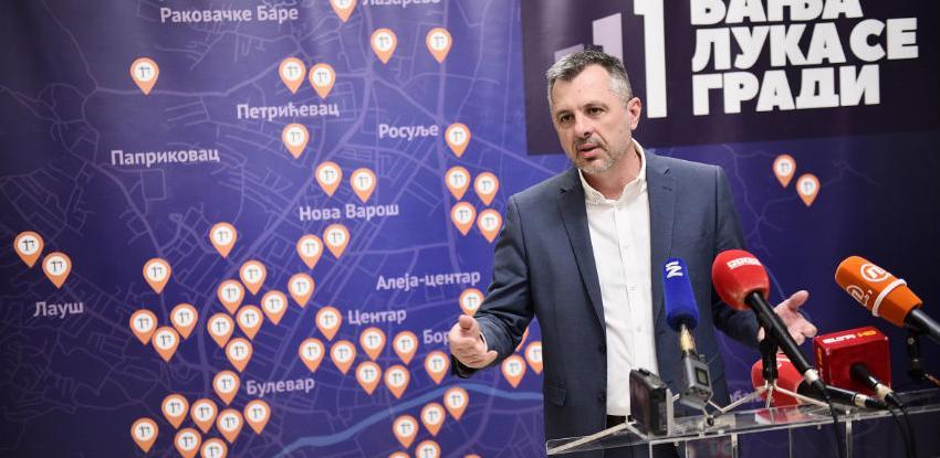 Banja Luka se gradi: Otvara se 30 javnih gradilišta