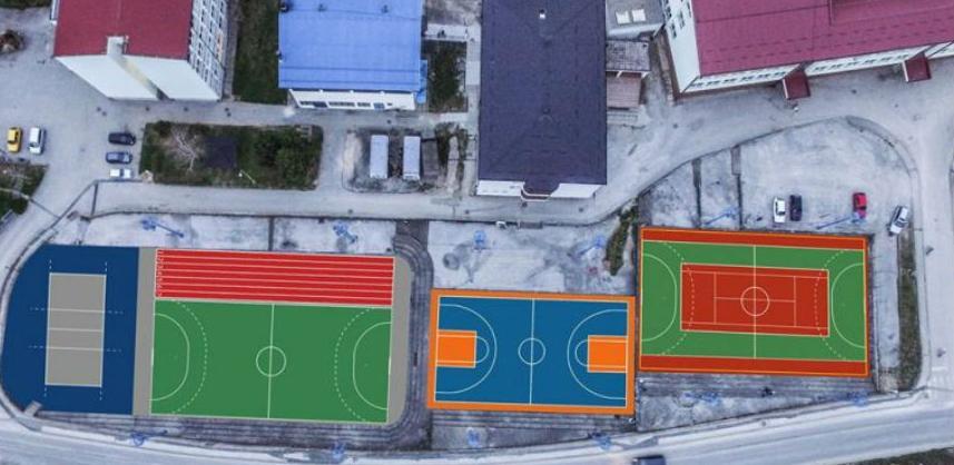 Srebrenica će dobiti moderno igralište za više sportova