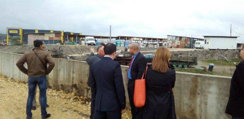 Ambasador Češke posjetio buduće industrijske zone općine Doboj Jug
