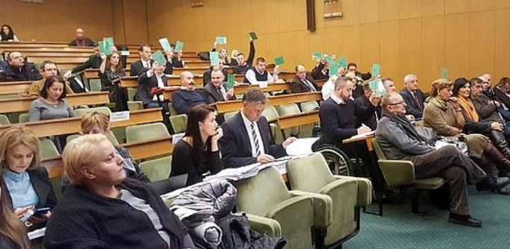 Gradski vijećnici podržali Nacrt budžeta Grada Zenica za 2019. godinu