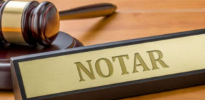 Odluka o visini naknade za postupanje Notarske komore
