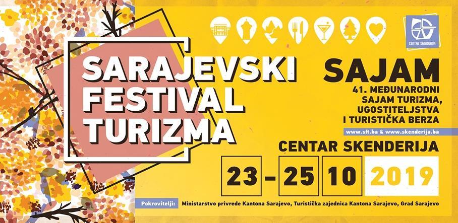 Sarajevski festival turizma od 23. do 25. oktobra