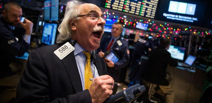 """Akcije na Wall Streetu """"eksplodirale"""" nakon Božića"""