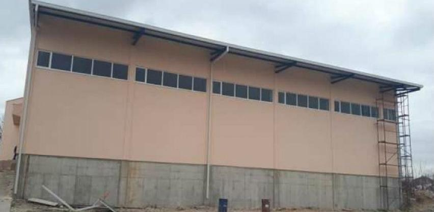 Izgradnja sportske dvorane na Crnićima kod Stoca ide prema planu