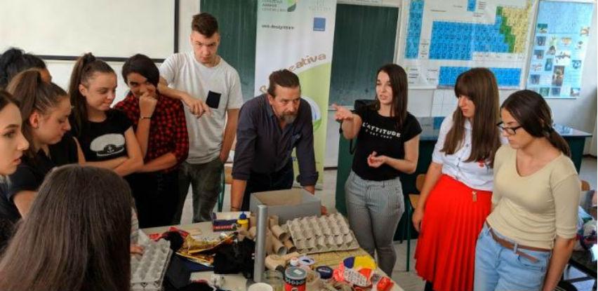 Projekat Re:Creativa: Učenici se upoznali sa upcyclingom
