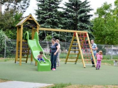 Završeni radovi na izgradnji dječijeg parka '23 april' na Grbavici