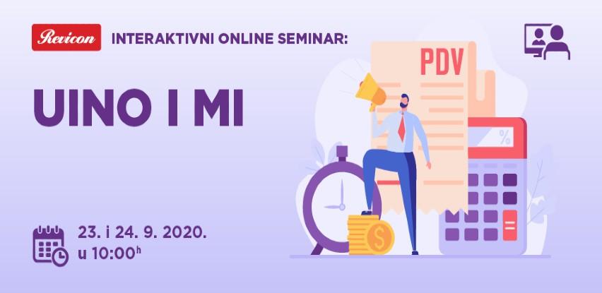 Interaktivni online seminar - UINO I MI
