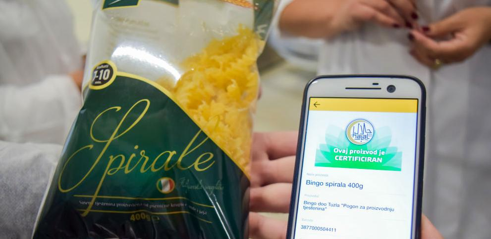 Bingo tjestenine halal certificirane
