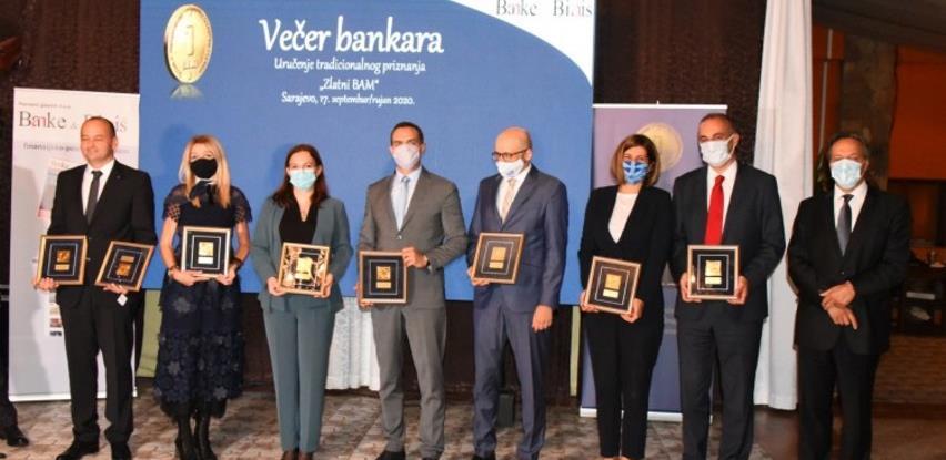 "Uručena tradicionalna bankarska priznanja ""Zlatni BAM"""