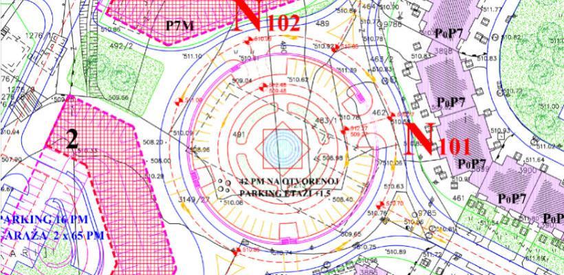 Na Dobrinji 5 gradit će se garaža sa oko 150 parking mjesta
