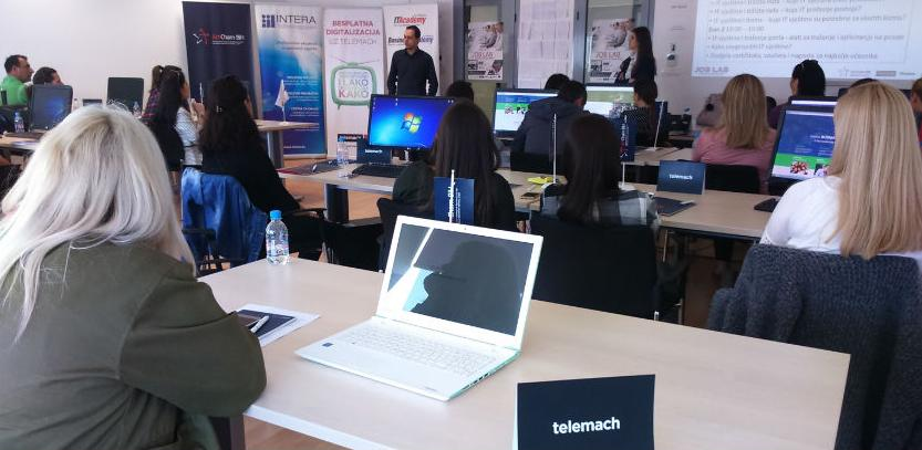 U Mostaru završene 'JOB Lab' radionice za nezaposlene