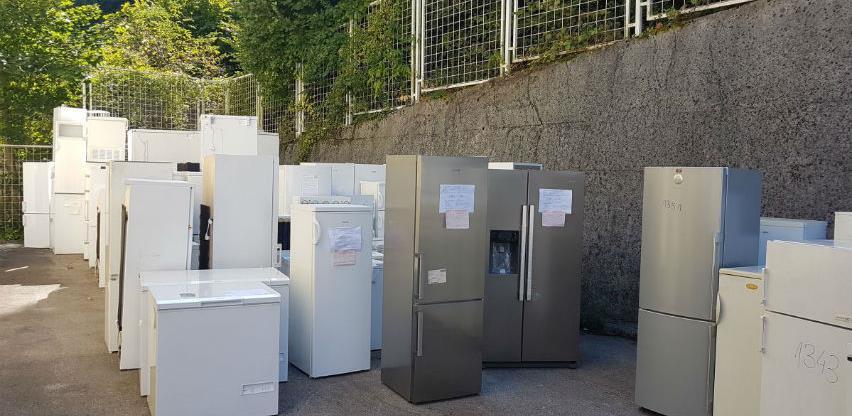 U ekološkoj akciji prikupljeno 1.433 stara velika kućanska aparata u BiH