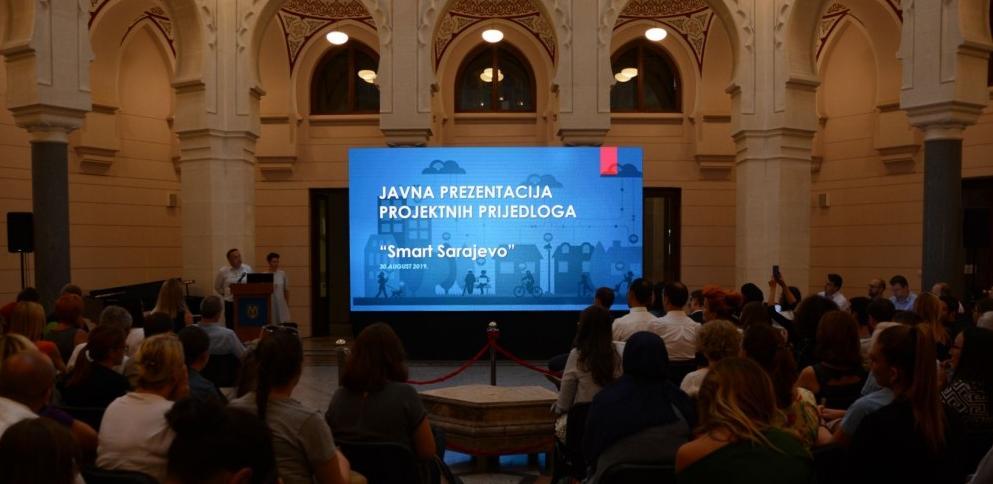 """Predstavljena 23 projekta za """"Pametno Sarajevo"""""""
