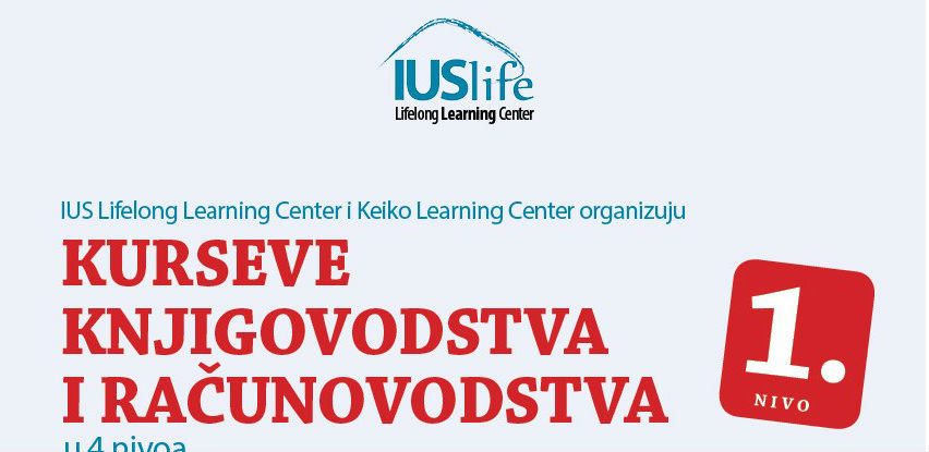IUS Lifelong Learning Center organizuje kurseve računovodstva