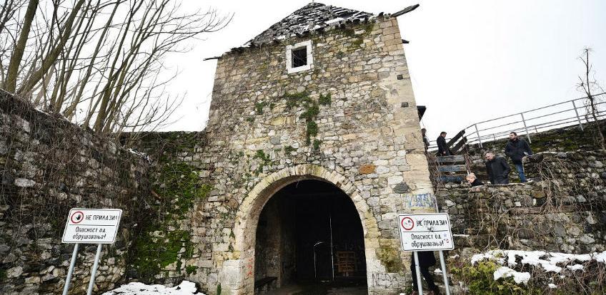 Vrijednost radova 100.000 KM: Na proljeće obnova još jedne kule tvrđave 'Kastel'