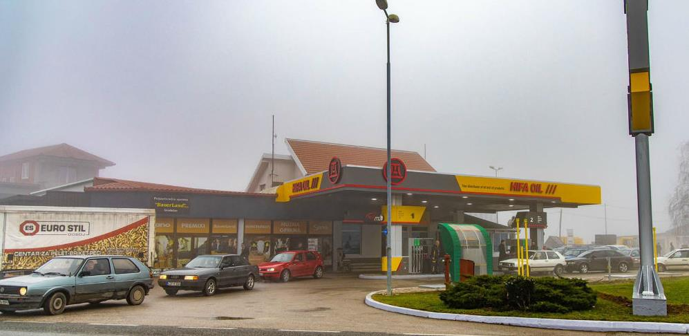 U Gradačcu otvorena trinaesta Hifa Oil – Euro Oil benzinska pumpa