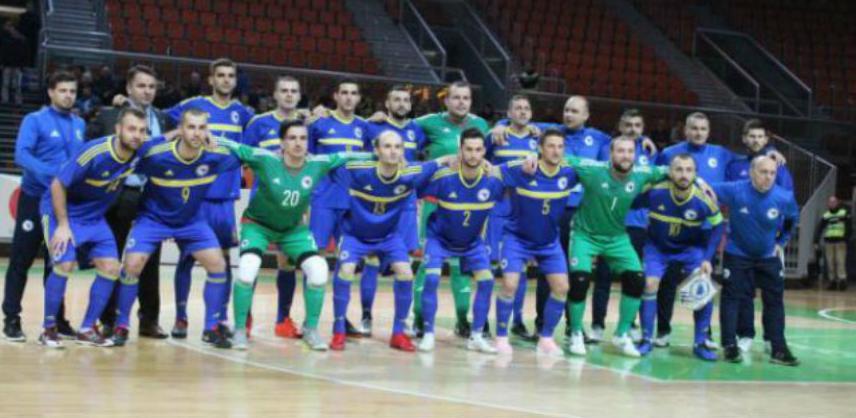 Futsal: BiH osvojila 1. mjesto u preliminarnim kvalifikacijama za SP