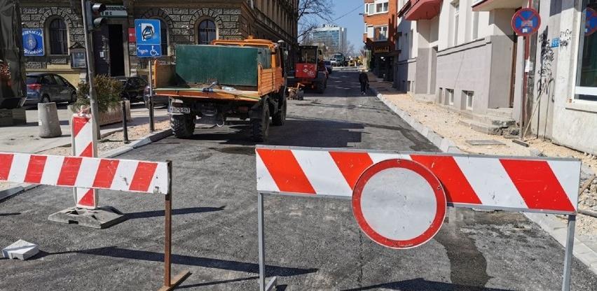 Postavljen prvi sloj asfalta na dijelu Kranjčevićeve ulice
