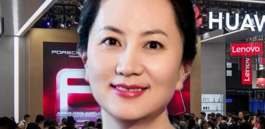 Direktorki Huaweija odobrena kaucija, ali uz nanogicu
