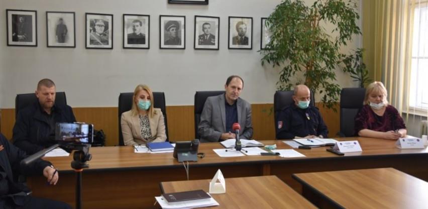 Štab civilne zaštite KS donio pet novih naredbi