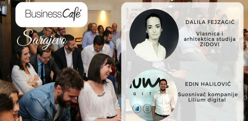 22. Business cafe u Sarajevu: Tajne poslovnih uspjeha mladih bh. poduzetnika