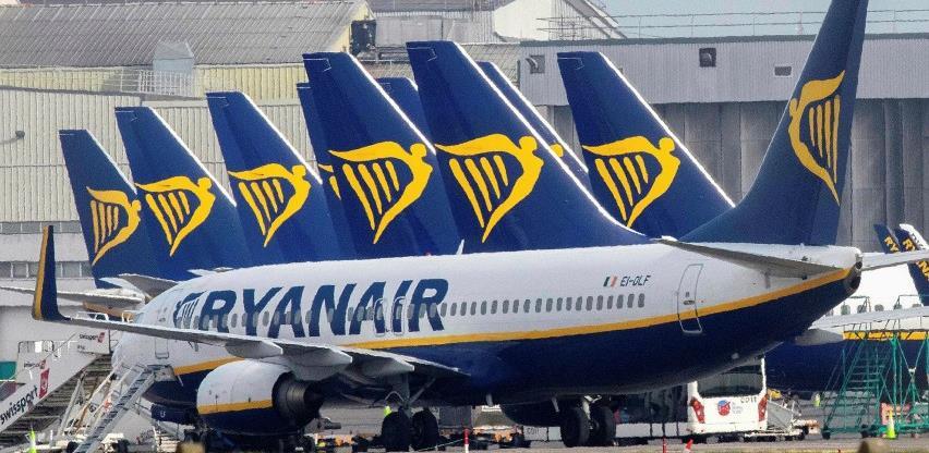 Ryanair obustavlja i posljednji let iz Bosne i Hercegovine