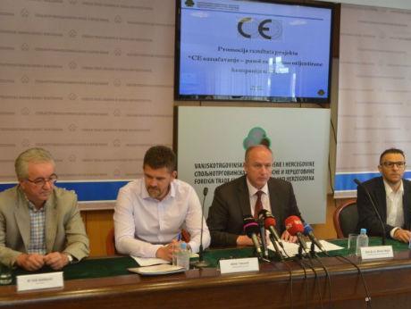 Pet kompanija iz BiH steklo uvjete za postavljanje oznake CE