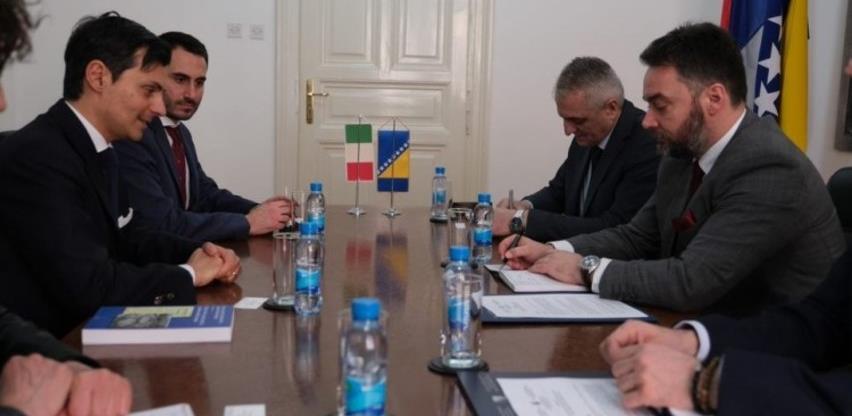 Italija u BiH želi ulagati kroz obnovljive izvore, turizam i poljoprivredu