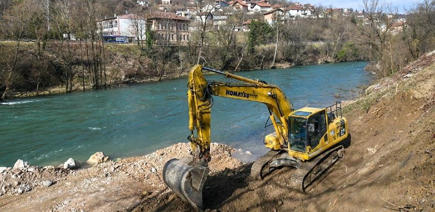 Projekt vrijedan 3,4 mil. KM: Počela izgradnja novog mosta u Srpskim toplicama