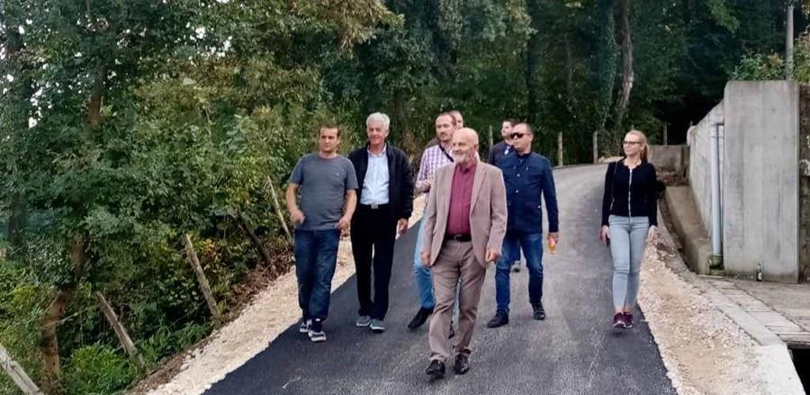 Kalesija: Općinski načelnik otvorio sedam infrastrukturnih projekata