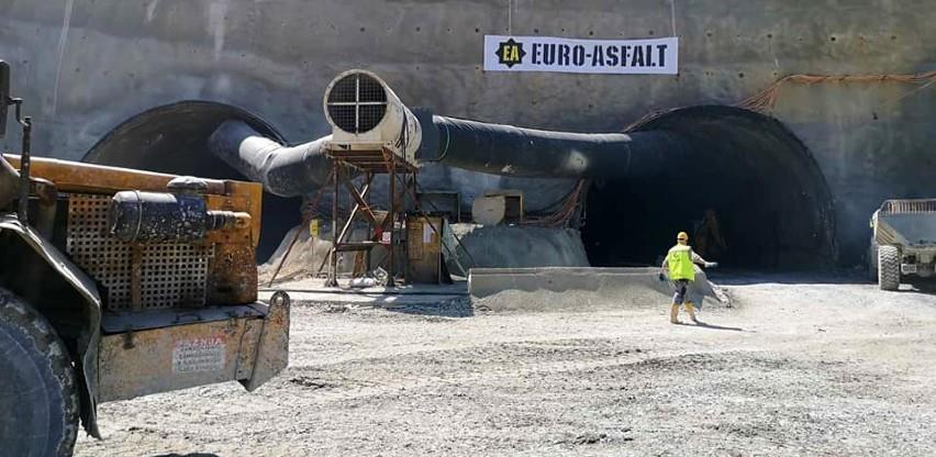 Pogledajte radove na izgradnji tunela Zenica (Foto/Video)
