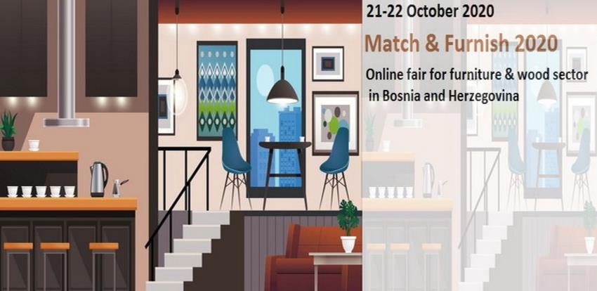 Bh. kompanije na online sajmu namještaja Match & Furnish 2020