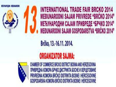 Međunarodni sajam privrede Brčko 2014. od 13. do 16. novembra