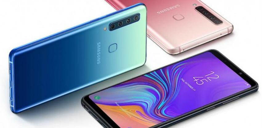 Samsung predstavio Galaxy A9 - prvi smartfon s četverostrukom kamerom