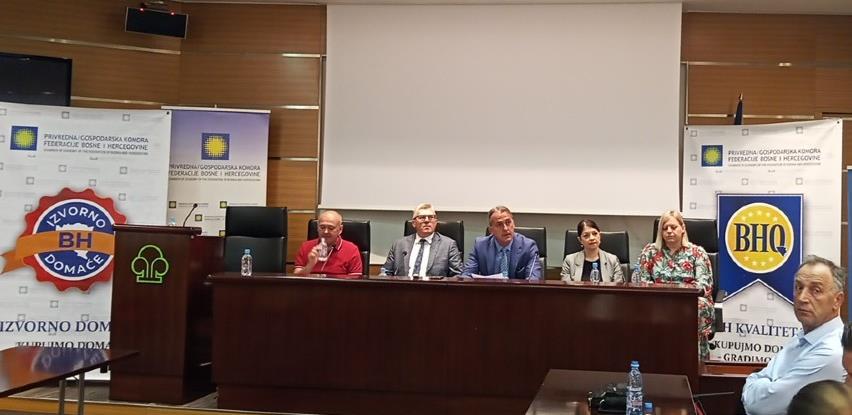 """Jašarspahić: Vrijeme je za """"agresivniju"""" kampanju u promoviranju domaćih proizvoda"""