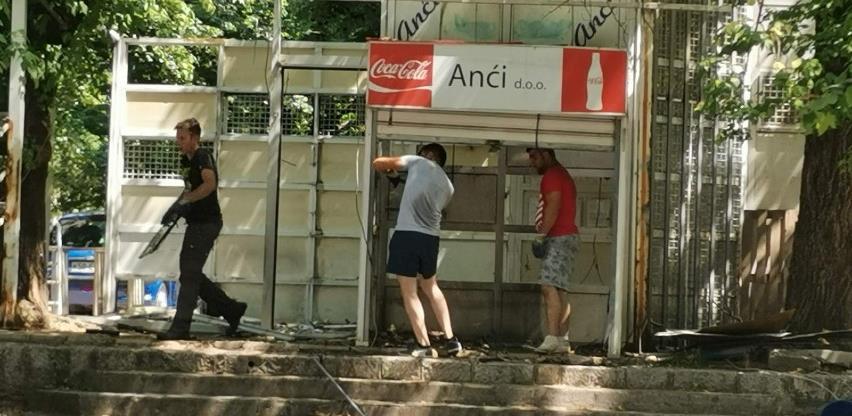 U Mostaru uklonjena 283 bespravna objekta
