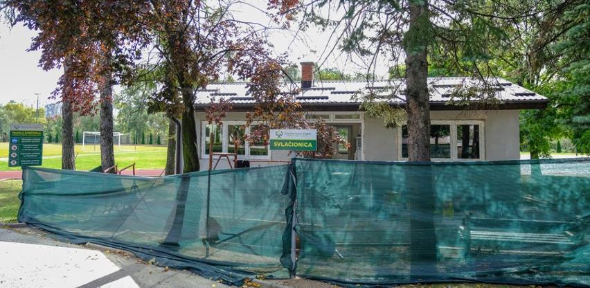 """Počeli radovi na rekonstrukciji atletske svlačionice u Centru """"Safet Zajko"""""""